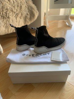 Givenchy Basket slip-on noir-blanc