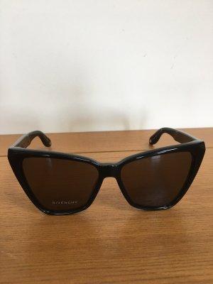 Givenchy Occhiale da sole spigoloso nero