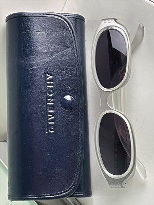 Givenchy Oval Sunglasses multicolored mixture fibre