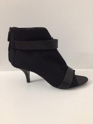 Givenchy Peep Toe Booties black