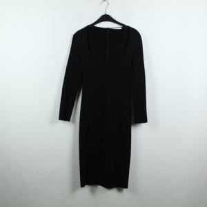 Givenchy Vestido tejido negro tejido mezclado