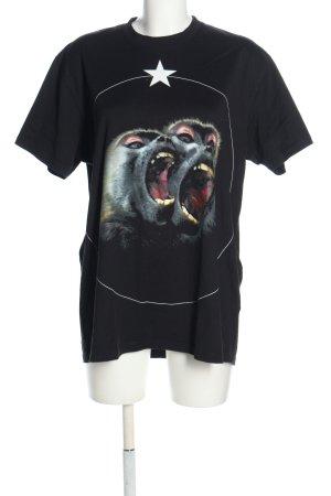 Givenchy Camiseta estampado temático look casual