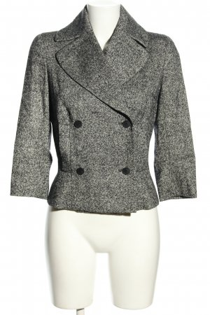 Givenchy Tweedblazer hellgrau meliert Business-Look