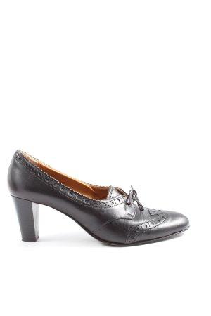 Gixus Loafers zwart casual uitstraling