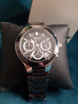 DKNY Orologio con cinturino di metallo nero