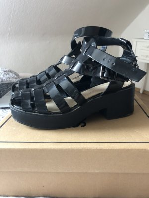 Dolci Roman Sandals black