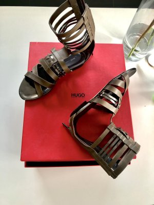 BOSS HUGO BOSS Roman Sandals green grey