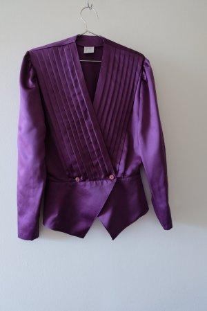 Vintage Splendor Blouse violet polyester