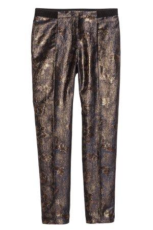 glänzende Hose von H&M Größe 36 Slacks