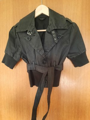 New Look Blazer corto nero-argento