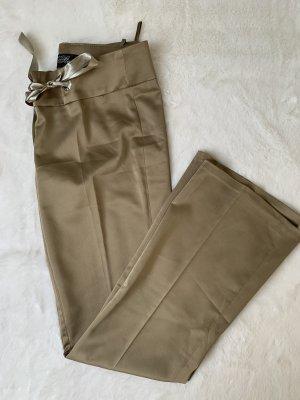 Vintage Pantalon à pinces multicolore