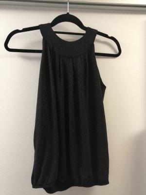 Promod Blusa brillante negro Poliéster
