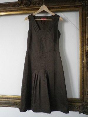 Apriori Sukienka etui zielono-szary Sztuczne włókno