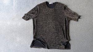 Doris Streich Camicia lunga nero-oro Poliammide