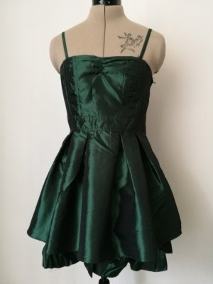 H&M Petticoat Dress dark green-forest green