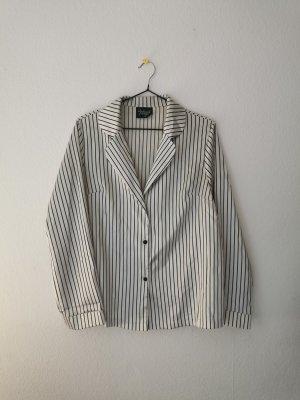 Reclaimed Vintage Camicia a maniche lunghe bianco-nero