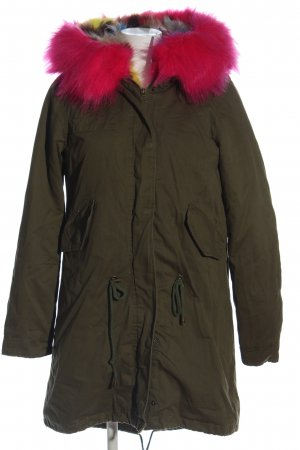 Glam Amour Parka color bronce-rosa look casual
