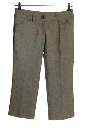 Glam Collection Pantalone a 3/4 cachi puntinato stile casual