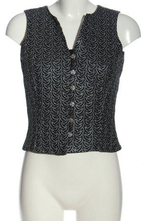 Glam Collection Chaleco de vestir negro estilo «business»