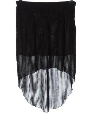 Glam Midi Skirt black casual look