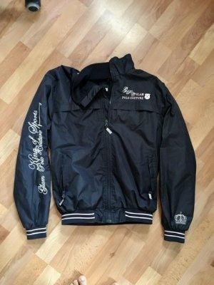 Bomber Jacket dark blue nylon