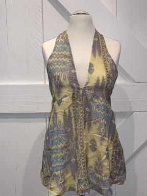 Glam Silk Top multicolored silk