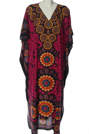 Glam Summer Dress allover print casual look