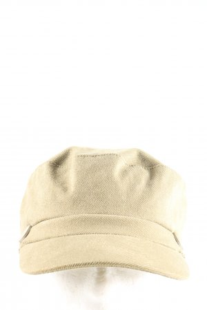 Glamorous Baker's Boy Cap natural white business style