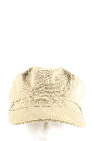 Glamorous Kaszkiet w kolorze białej wełny W stylu biznesowym