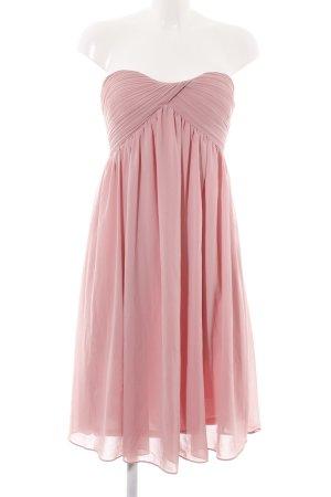 Glamorous Sukienka z dekoltem typu bandeau różowy Elegancki