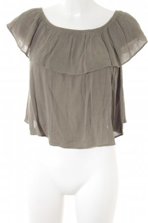 Glamorous Basic Top khaki Casual-Look