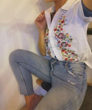 Glamourous Top koszulowy biały