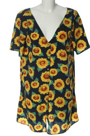 Glamorous Blusenkleid Blumenmuster Casual-Look