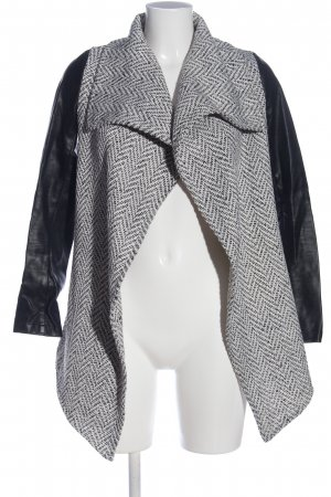 Glamorous Cardigan schwarz-weiß Allover-Druck Casual-Look