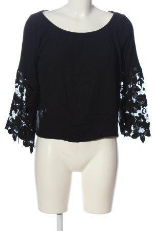 Glamorous Carmen Blouse black casual look