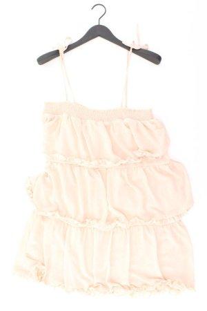Glamorous Chiffonkleid Größe UK12 Träger creme aus Polyester