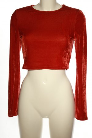 Glamorous Cropped Top rot Casual-Look