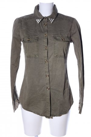 Glamorous Hemd-Bluse khaki Casual-Look