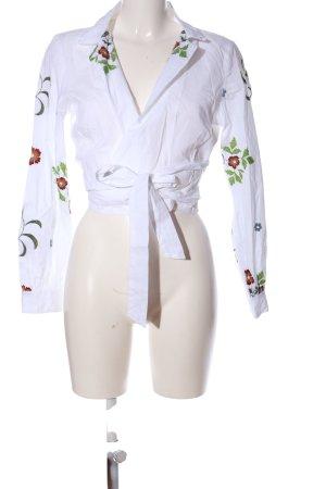 Glamorous Hemd-Bluse weiß Casual-Look
