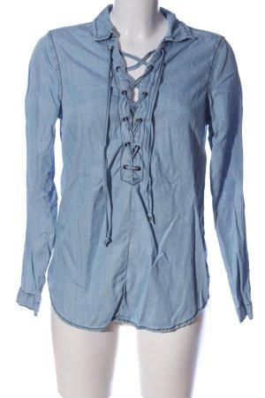 Glamorous Hemd-Bluse blau Casual-Look