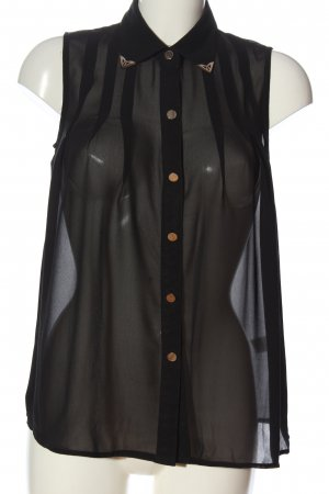Glamorous Hemd-Bluse schwarz Casual-Look