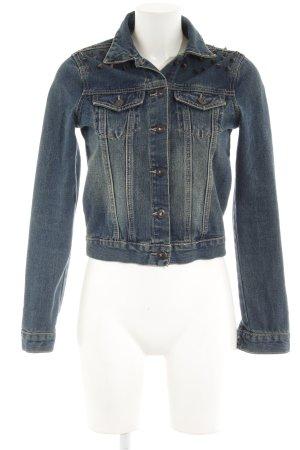 Glamorous Jeansjacke blau Boyfriend-Look