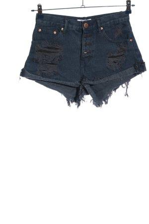 Glamorous Jeansshorts blau Casual-Look