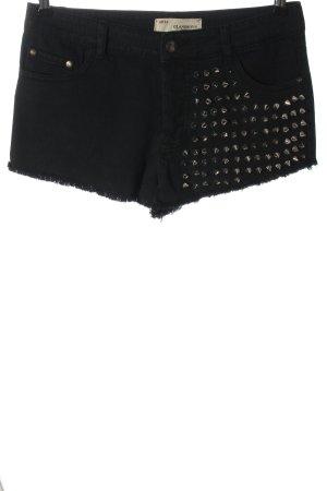 Glamorous Jeansshorts schwarz Casual-Look
