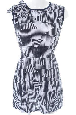 Glamorous Jerseykleid dunkelblau-weiß Streifenmuster Casual-Look