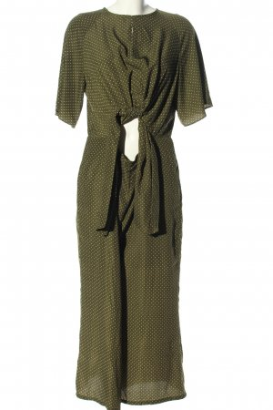 Glamorous Jumpsuit khaki-weiß Allover-Druck Casual-Look