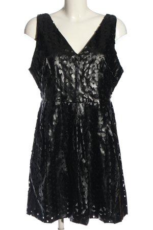 Glamorous Kunstlederkleid schwarz Elegant