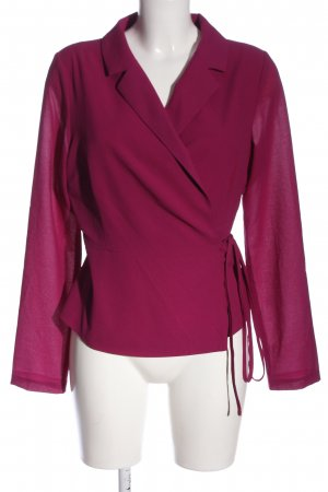 Glamorous Korte blazer roze zakelijke stijl