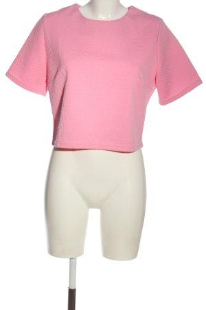 Glamorous Kurzarm-Bluse pink Casual-Look