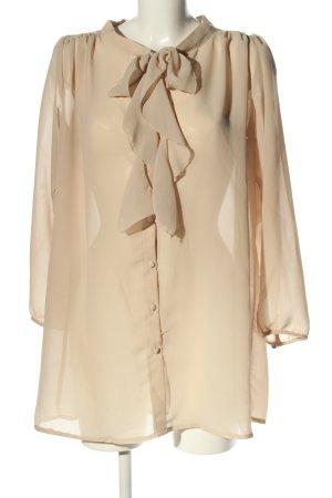 Glamorous Langarm-Bluse creme Casual-Look